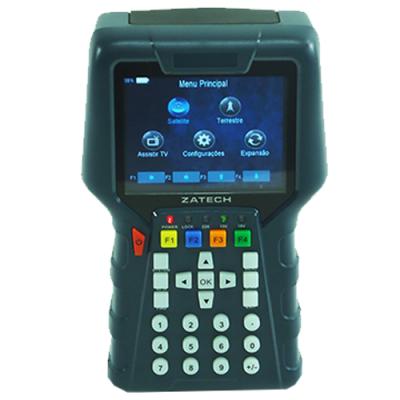 ZMCBR-H65 - Medidor de campo para sinais TV Digital HD ISDB-T
