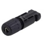 ZMC4-TF- - Conector Solar MC4 - Linha femea- para cabo 4mm