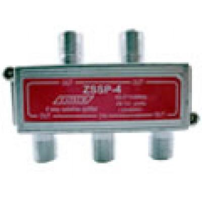 ZSSP-4SB - Divisor interno 4 saídas, satélite 40-2150MHz