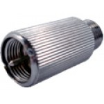 ZTPP - 59 - Conector Lacre de Segurança, contra roubo de sinais, em latão usinado, niquelado, com parede grossa, indestrutível